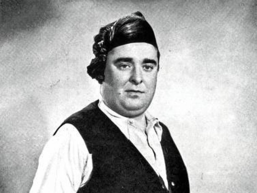 El cantador de jota José Oto.