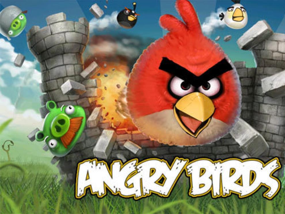 'Angry Birds' es uno de los juegos más descargados para iPhone.