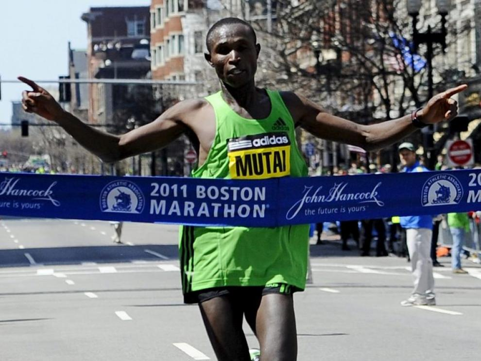 El ganador de la Martón de Boston
