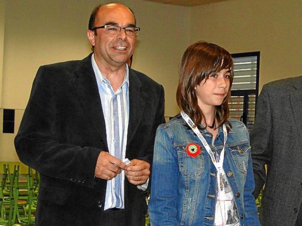 Paula Bometón, de Binéfar, ha sido la 22ª clasificada general y sexta femenina en el Campeonato de Aragón alevín.