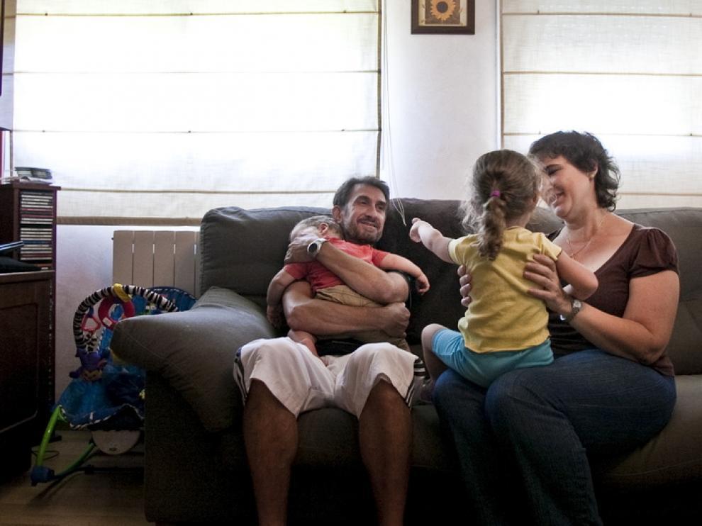 Familia de acogida aragonesa