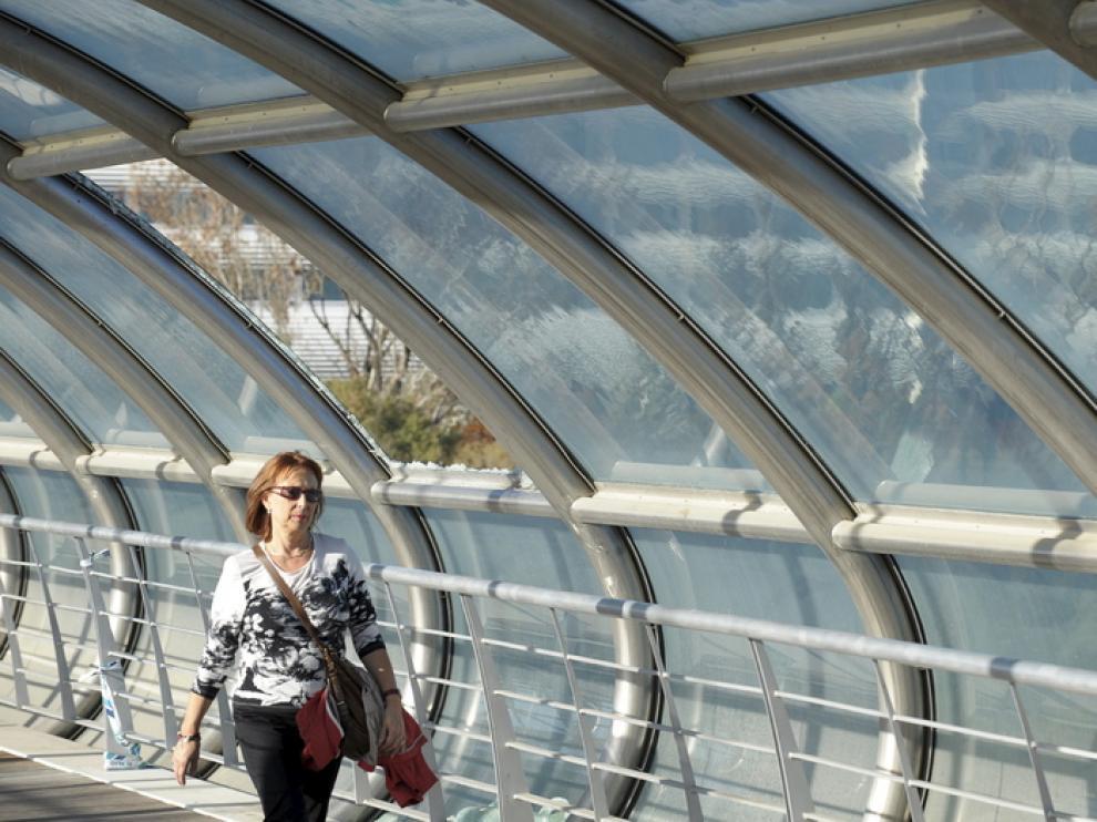 Desperfectos en Pasarela Manterola y Puente del Tercer Milenio