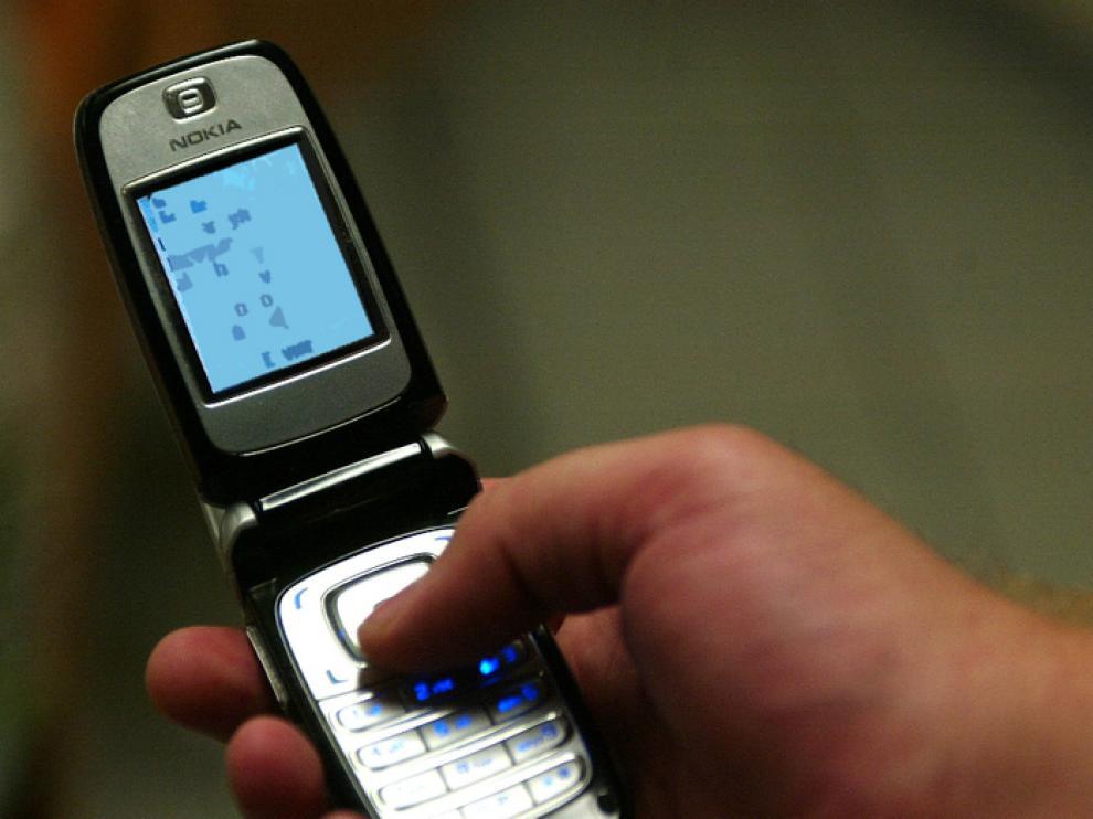 Mensaje de texto a través del móvil