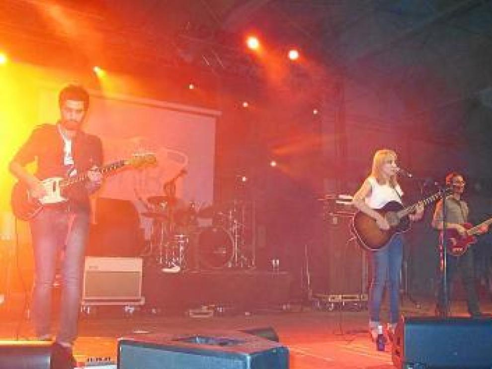 Actuación en una de las ediciones pasadas del Polifonik Sound de Barbastro.