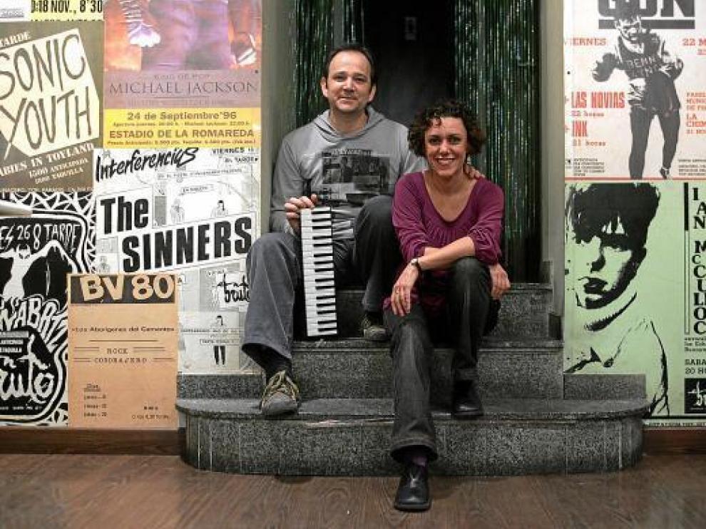 Faustino Cortés y María Pérez Collados, el dúo Maríaconfussion.