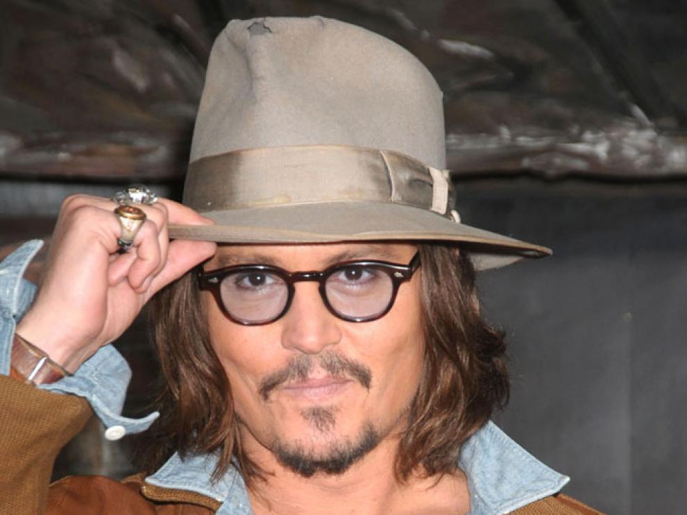 Johnny Depp en una imagen de archivo