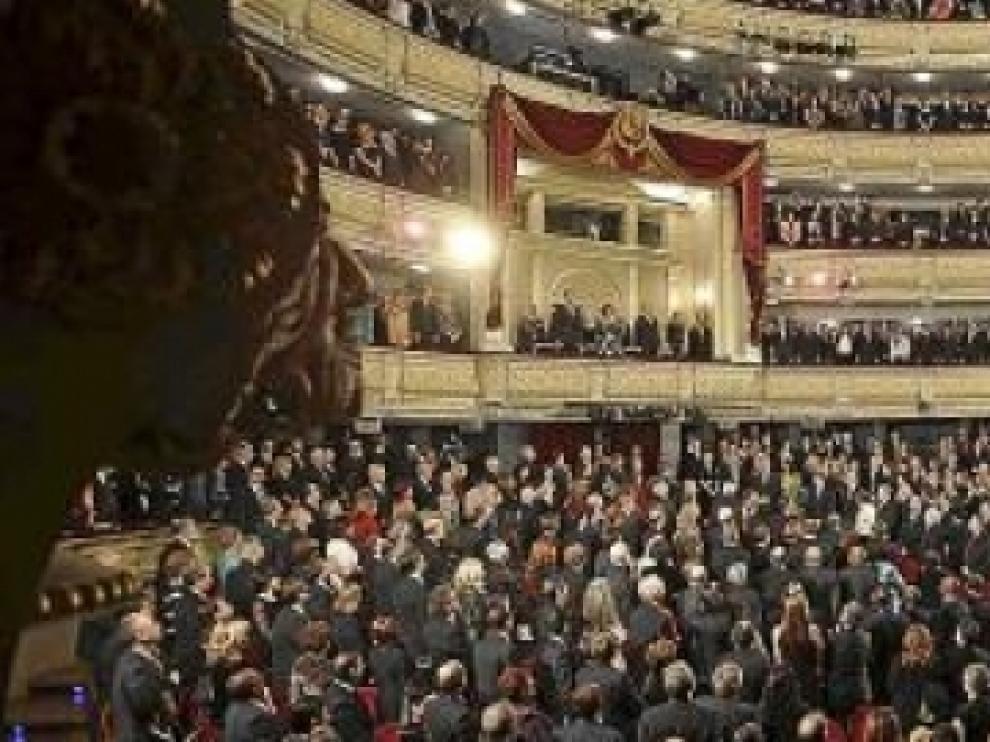 Imagen de archivo del Teatro Real