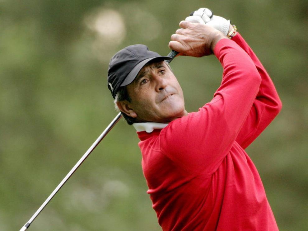 Severiano Ballesteros, en el Master de Augusta de 2007