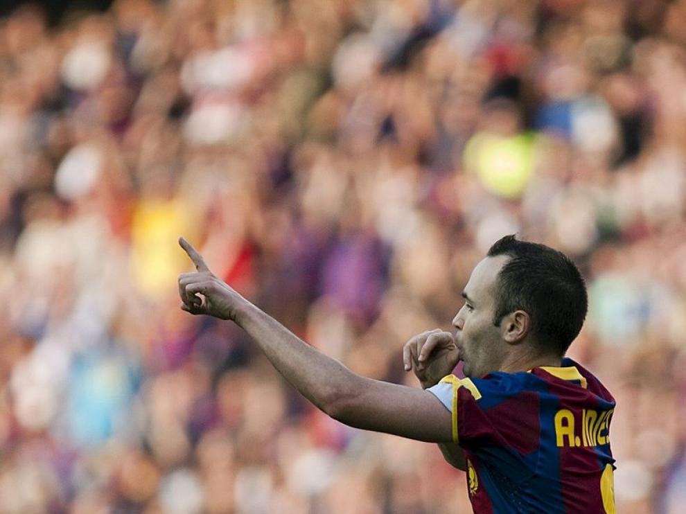 Iniesta, que marcó el primer gol, fue el más destacado