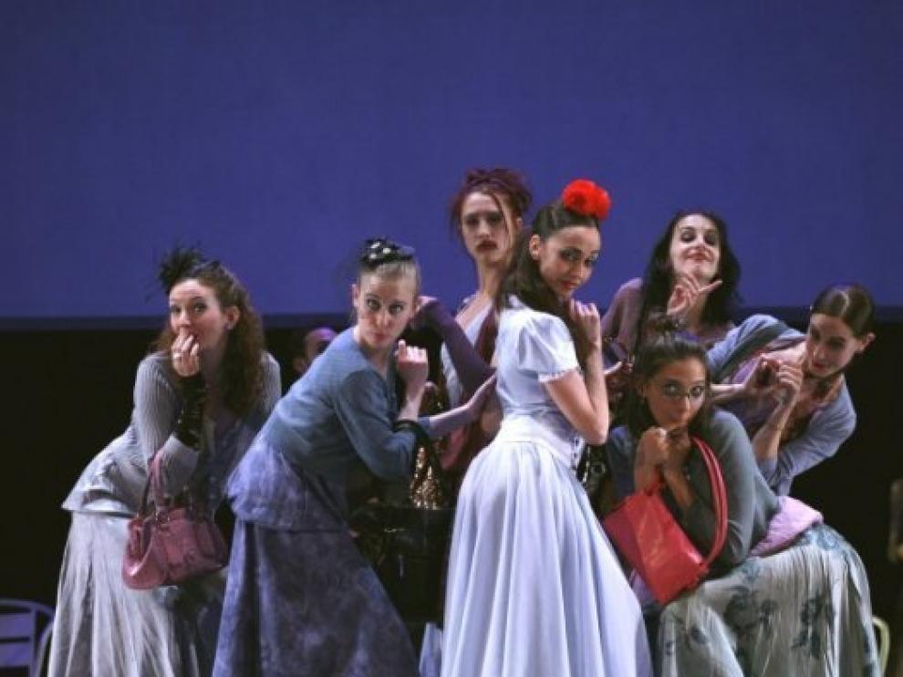 Escena del espectáculo 'Wonderland'