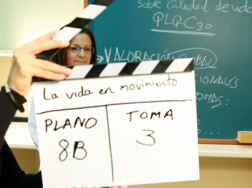 Rodaje del documental 'La vida en movimiento'