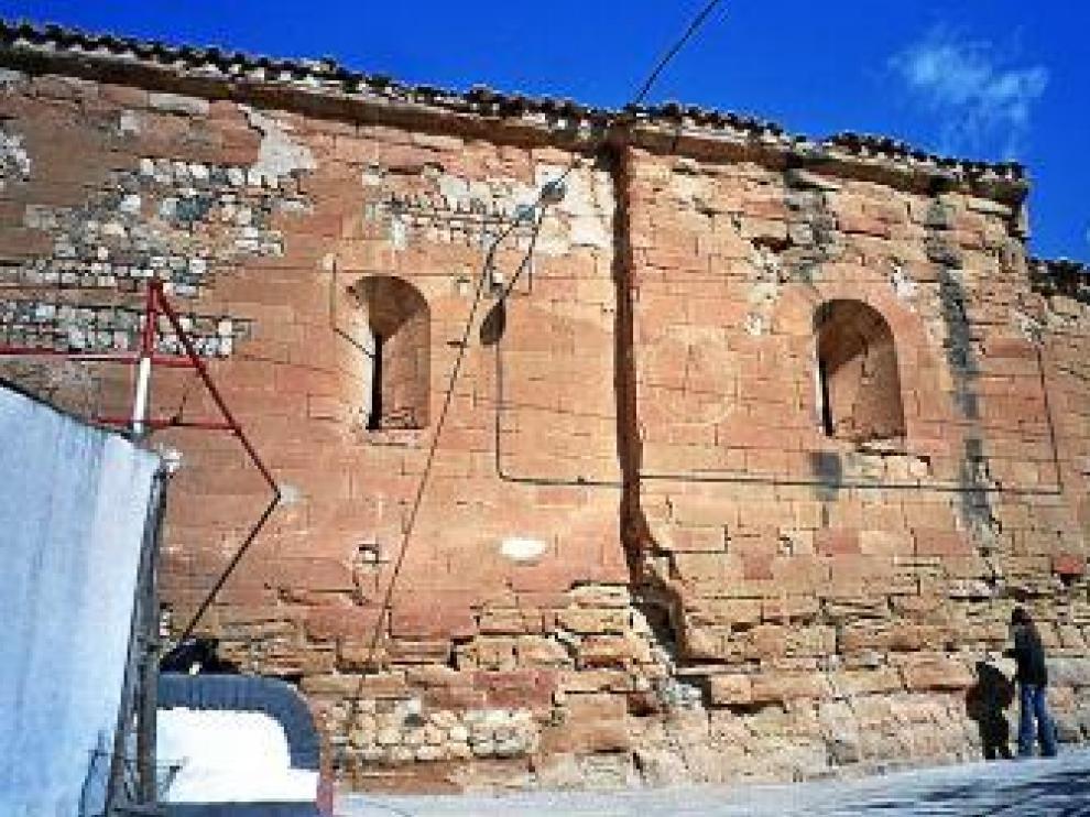La iglesia de Cofita requiere mejoras para ponerla en uso.