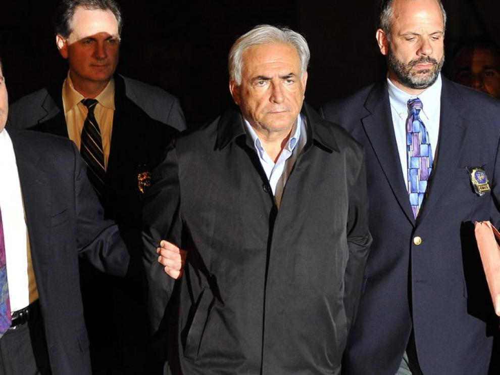 Dominique Strauss-Kahn fue detenido en Nueva York