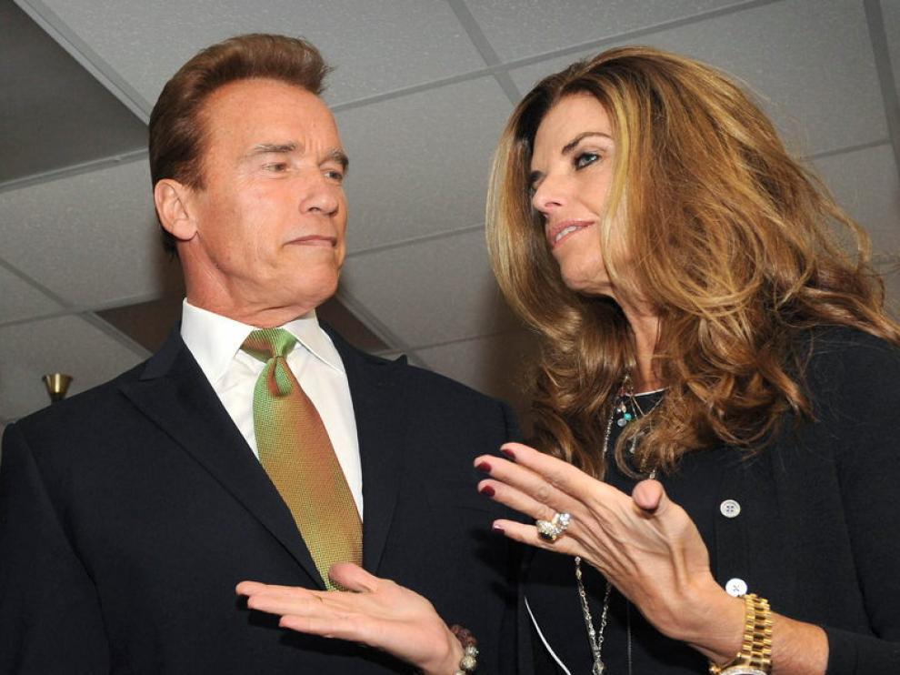 Schwarzenegger y Maria Shriver