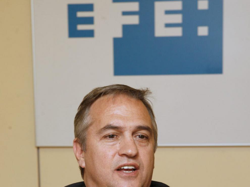José Luis Astiazarán, presidente de la Liga de Fútbol Profesional