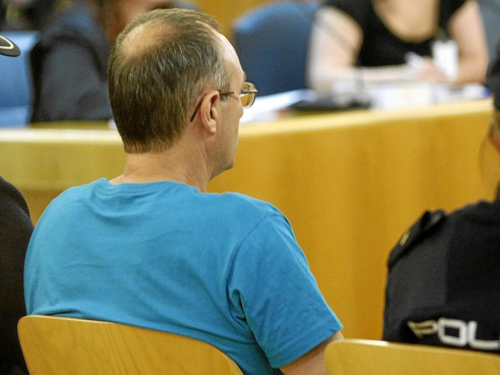 El etarra Juan Ramón Carasatorre, el pasado miércoles en la Audiencia Nacional.