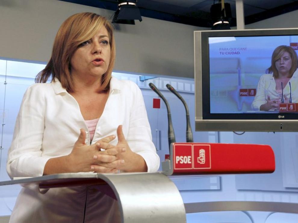 Elena Valenciano, coordinadora del Comité Electoral del PSOE, en una imagen de archivo