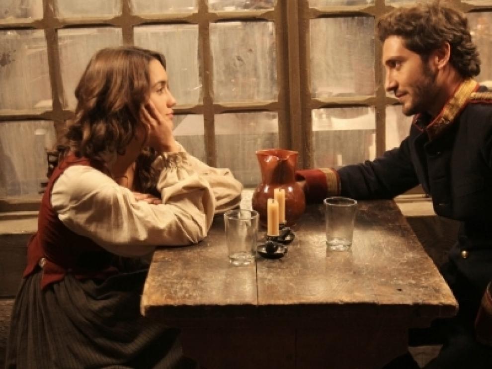 Imagen  de una de las escenas de la serie