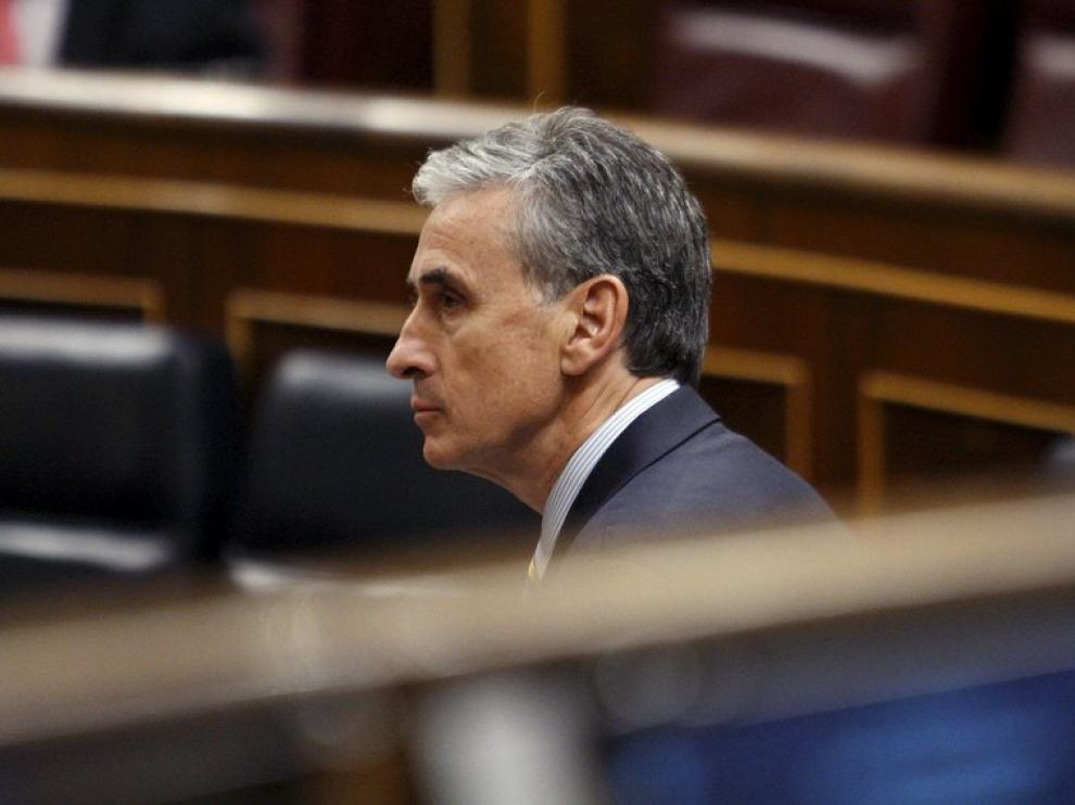 El Ministro de la Presidencia, Ramón Jauregui