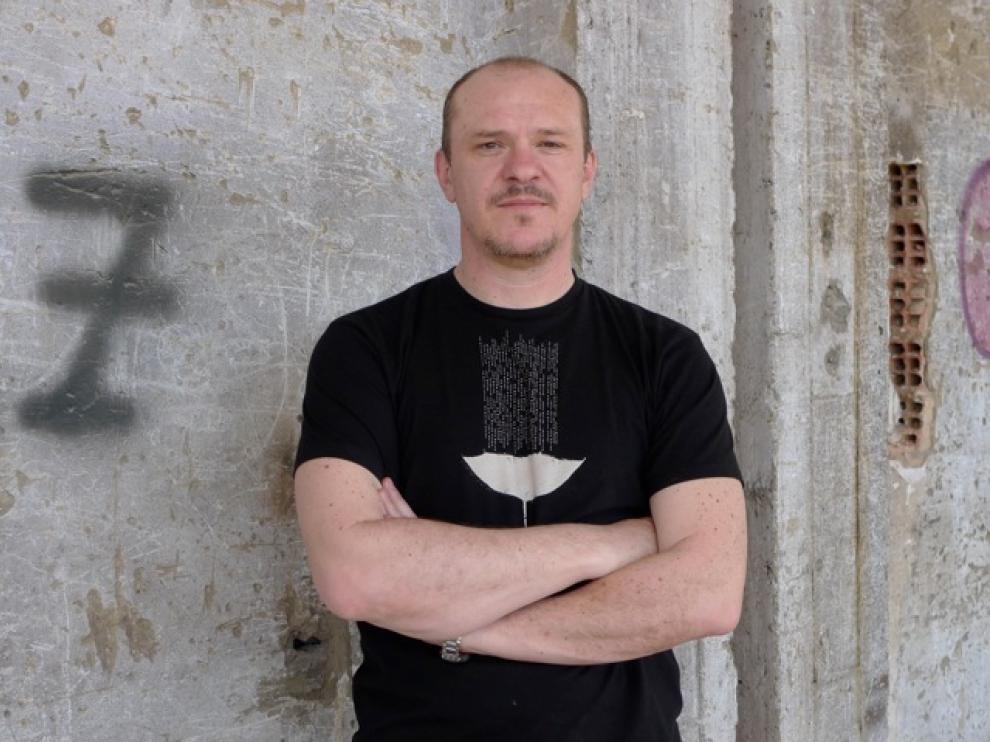 El autor aragonés Chusé Raúl Usón