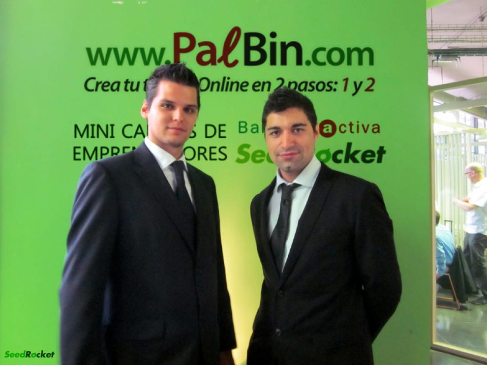 Enrique Andreu y Alejandor Fanjul, fundadores de Palbin.com