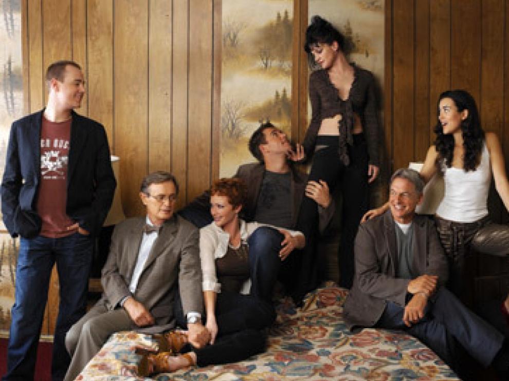 Los actores que componen el reparto de la serie.