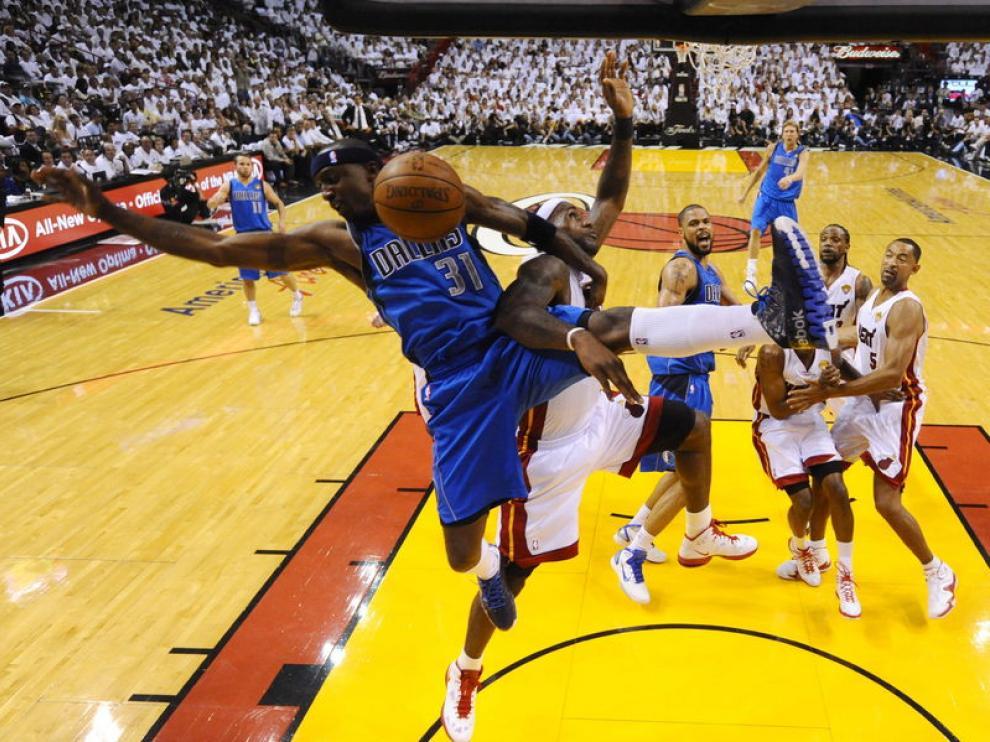 Imagen de un encuentro de la NBA