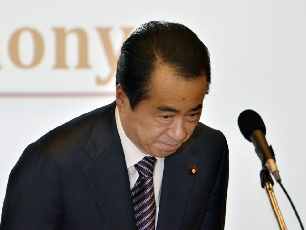 El presidente japonés, Naoto Kan