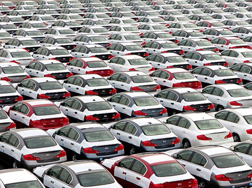 El peso de la exportación del automóvil en Aragón ha bajado al 44% respecto al 54% del histórico año 2007