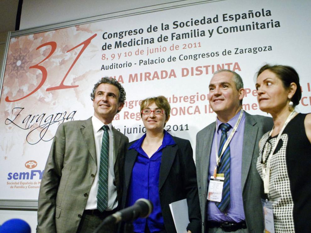Presentación del congreso de medicina de familia que se celebra en Zaragoza