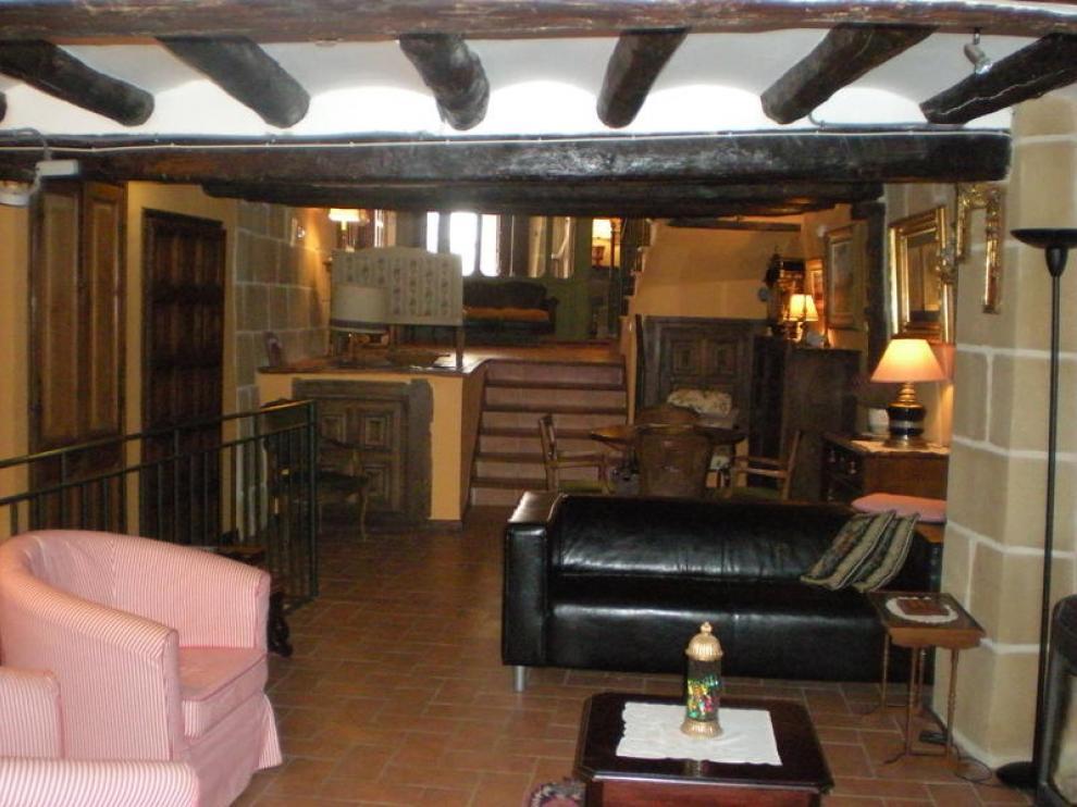 Imagen de la casa de los marqueses de Tosos, en Valderrobres
