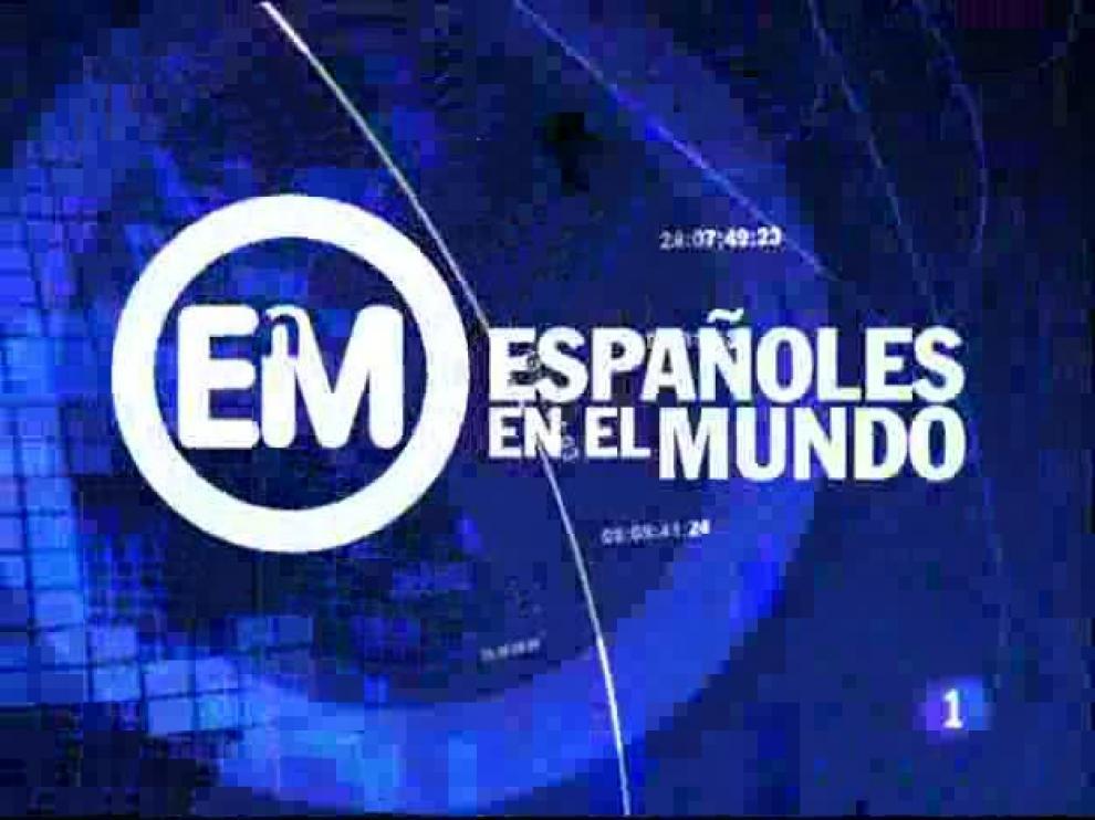 Cabecera del programa ' Españoles en el mundo'.