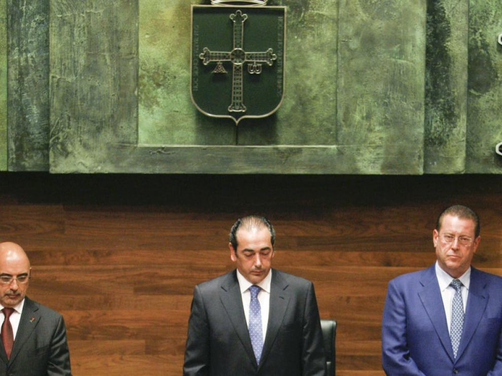 El presidente de Foro Asturias, Francisco Álvarez-Cascos, toma posesión de su cargo de diputado autonómico