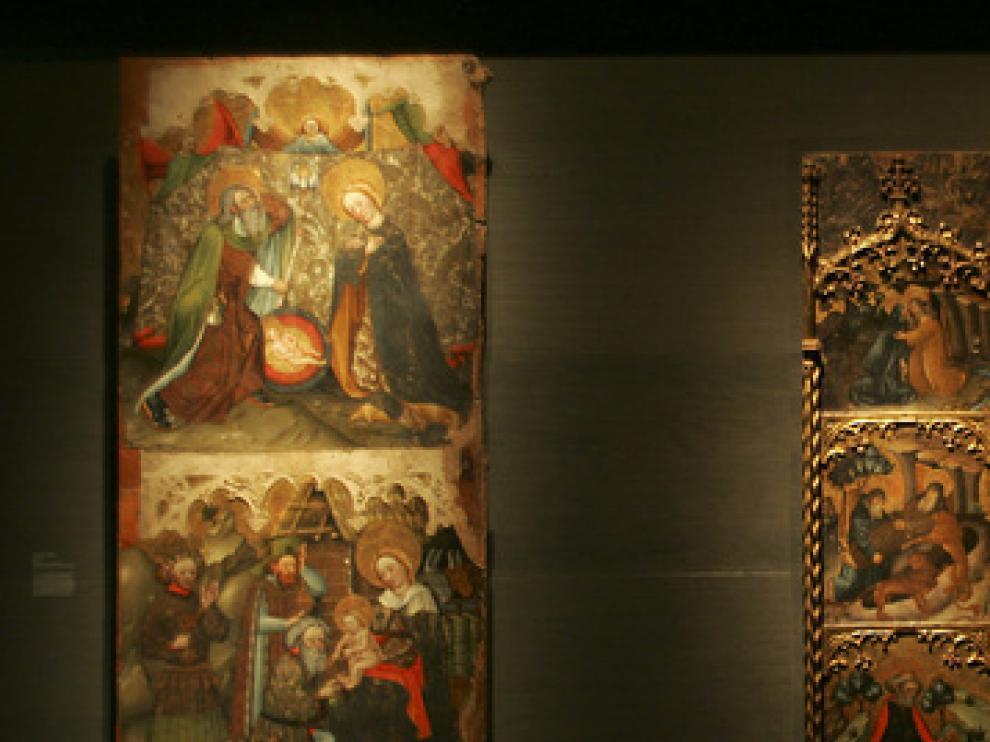 Imagen de archivo de bienes de la diócesis Barbastro-Monzón, expuestos en el Museo de Lérida