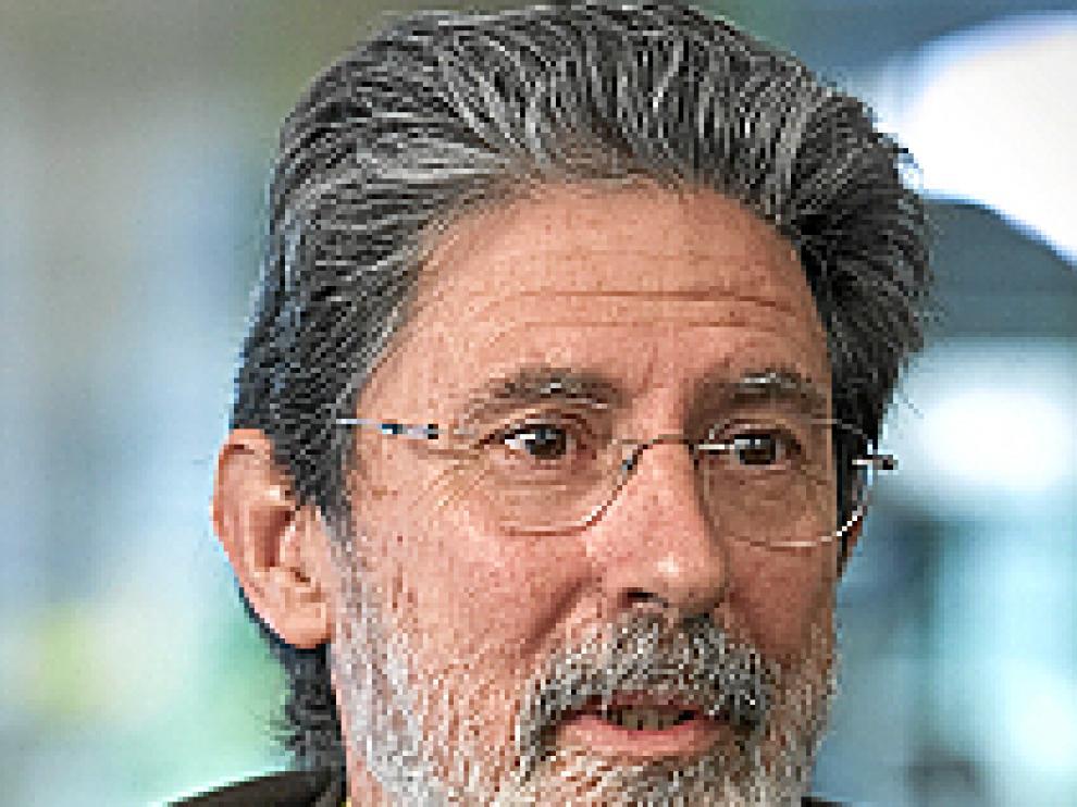 Adolfo Barrena, Coordinador y portavoz de IU en las Cortes de Aragón.