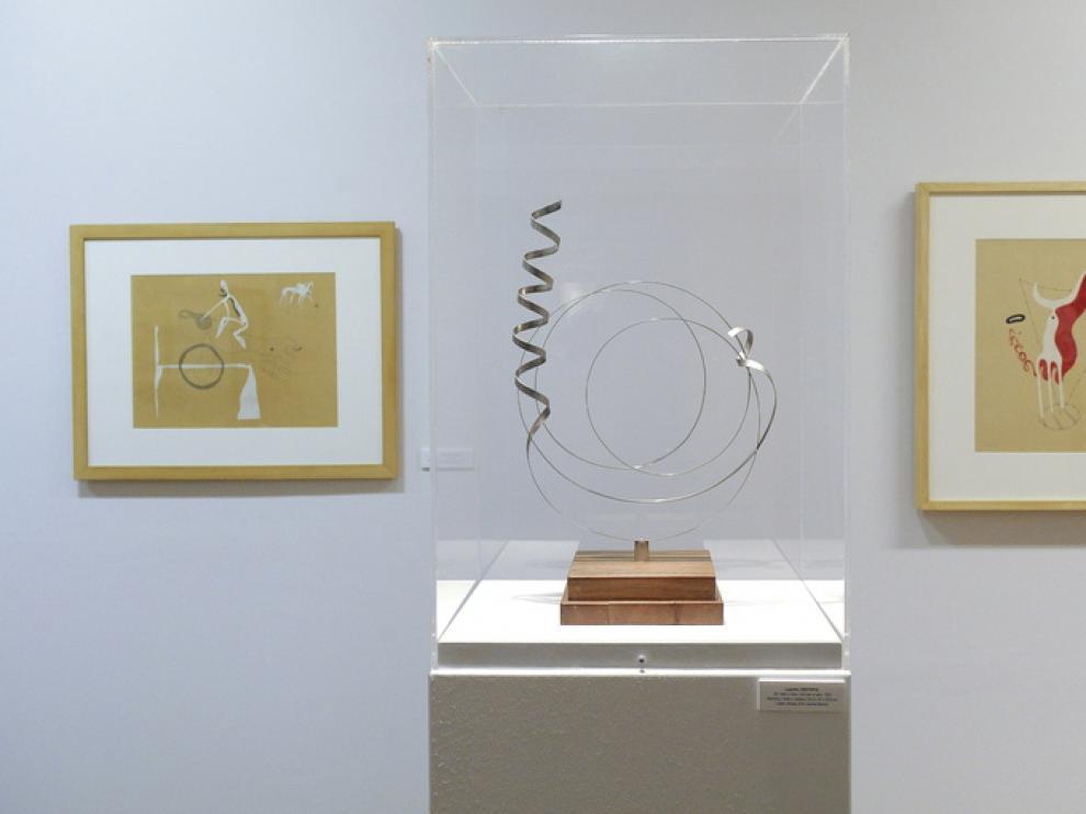 Exposición de Lamolla en el Pablo Gargallo