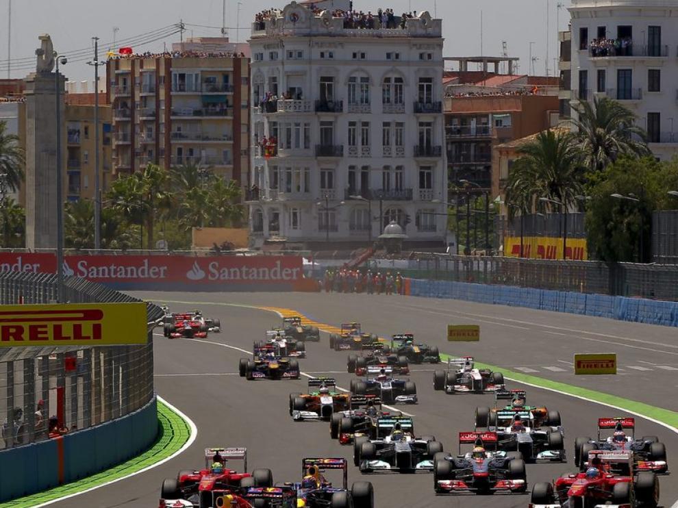 Carrera de Fórmula 1 en Valencia