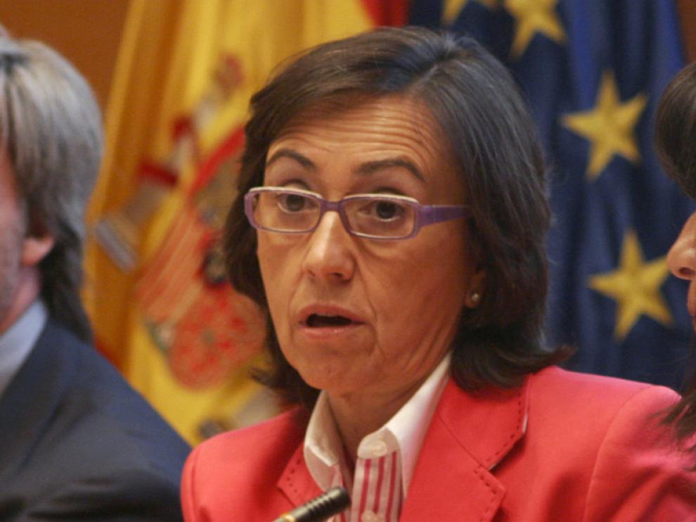 La ministra de Medio Ambiente y Medio rural y Marino, Rosa Aguilar, en una imagen de archivo.