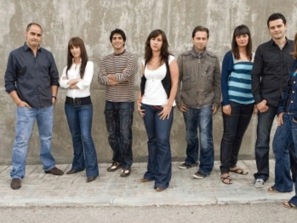 El equipo encargado de presentar el programa de La 1.
