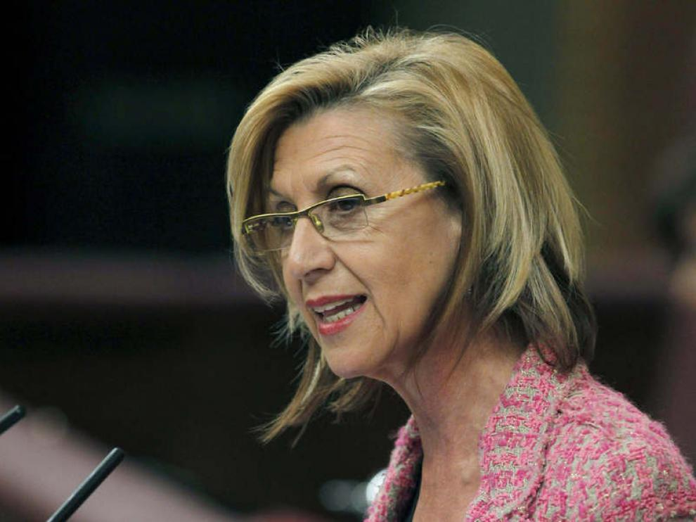 La diputada de UPyD en el Congreso, Rosa Díez, en una imagen de archivo