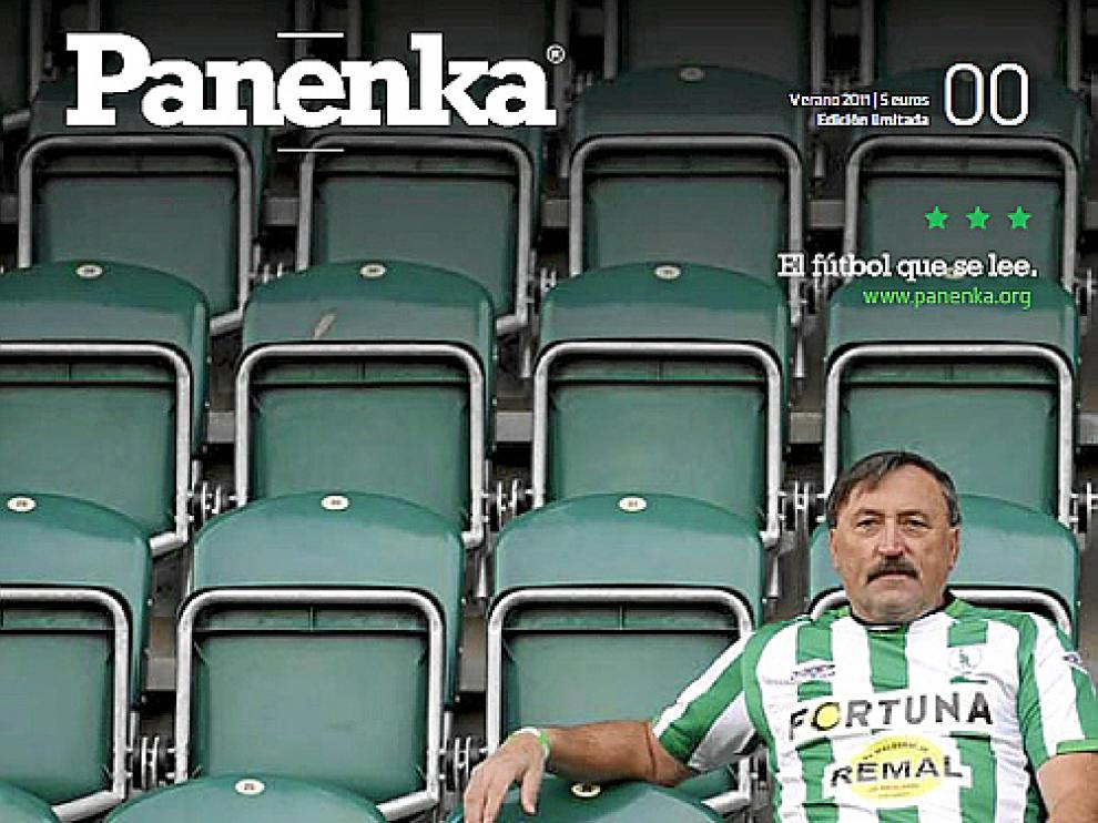 Portada de la revista 'Panenka'