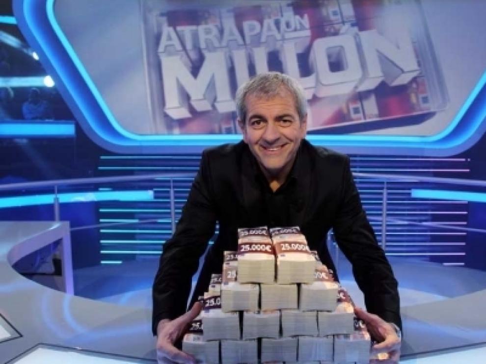 Carlos Sobera presenta en Antena 3 el concurso 'Atrapa un Millón'