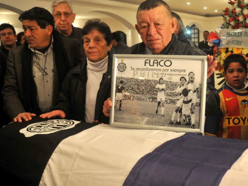 Los restos del 'Lobo' Diarte llegan a Paraguay