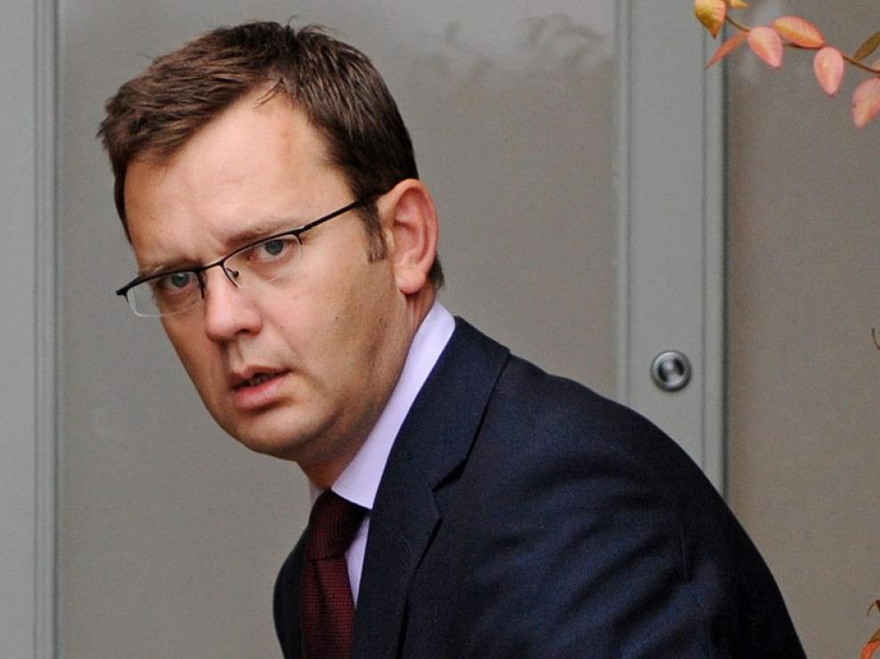 Andy Coulson, ex jefe de prensa de David Cameron, en una imagen de archivo