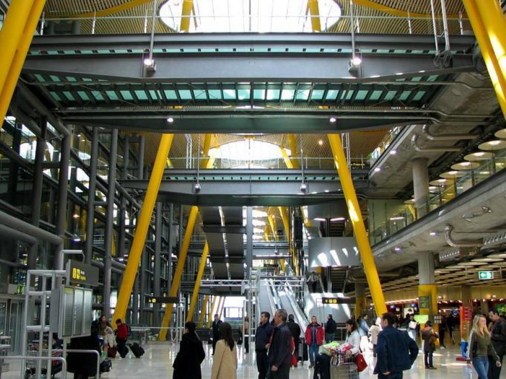 Imagen de archivo de la Terminal 4 del Aeropuerto Internacional de Madrid-Barajas