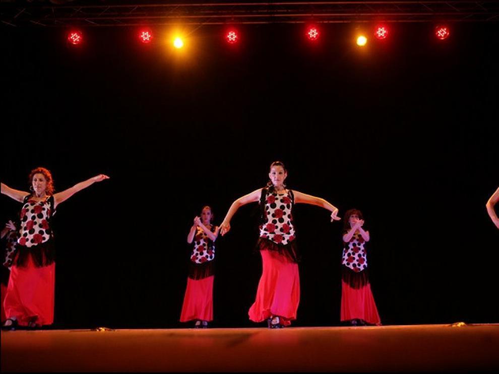 Escuela de Carlota Benedí, una de las participantes del Día Internacional de la Danza.