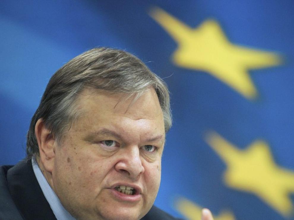 El ministro de Finanzas griego, Evangelos Venizelos