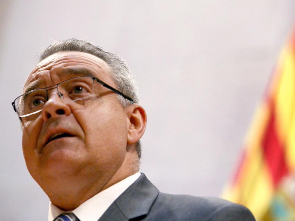 Alfredo Boné, portavoz del PAR en las Cortes regionales