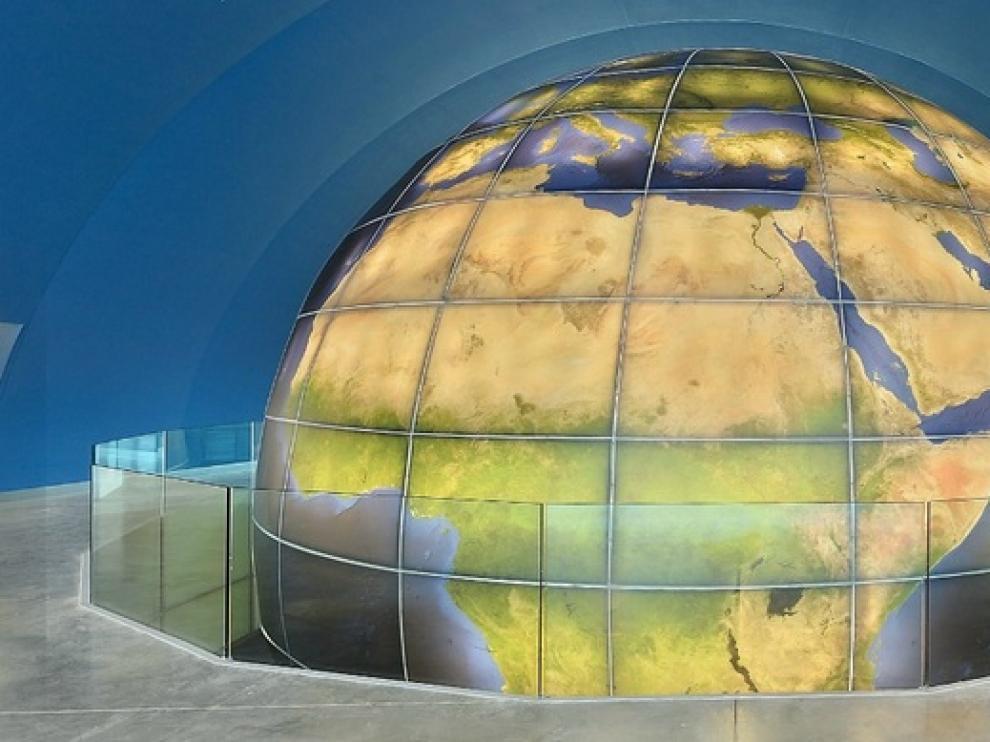 El Planetario de Huesca en 360º.
