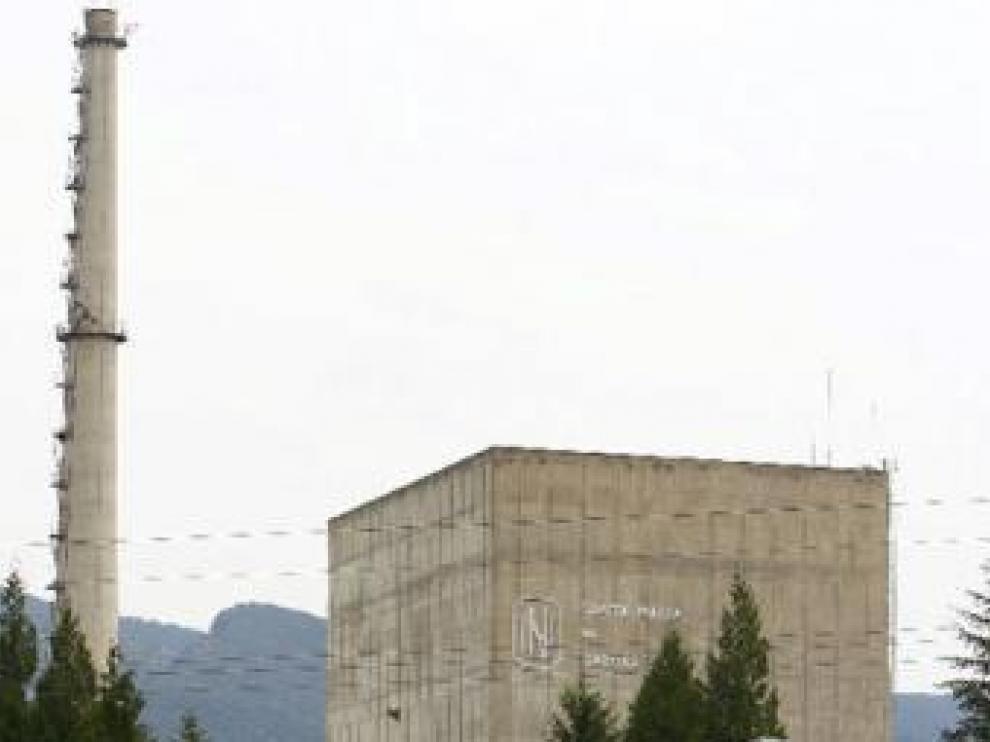 La central nuclear de Santa María de Garoña, en Burgos
